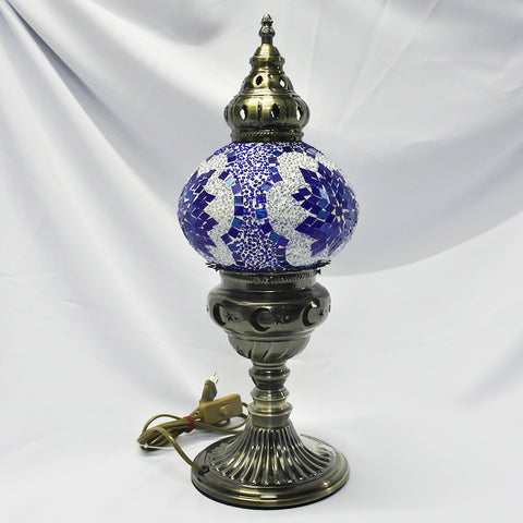 Blue Large Turkish Table Lamp (Selected Stores)