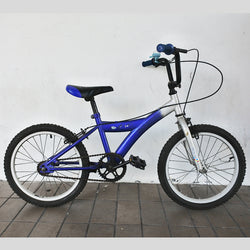 Kids Silver Blue Bicycle (Tampines)
