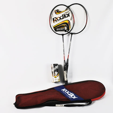 Badminton Racket Pair With Shuttlecock (Selected Stores)