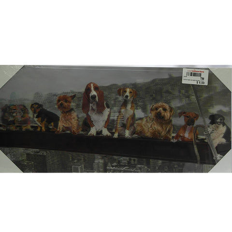 3D Dogs Picture on Hard Board (Tampines)