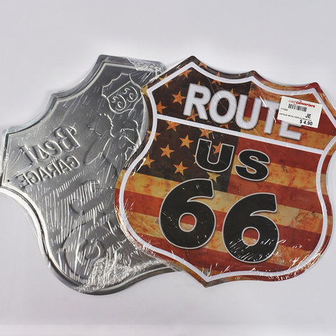VINTAGE METAL DISPLAY - ROAD SIGN (Selected Stores)