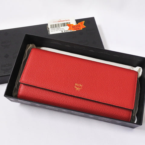 MCM Red Wallet (Chinatown)