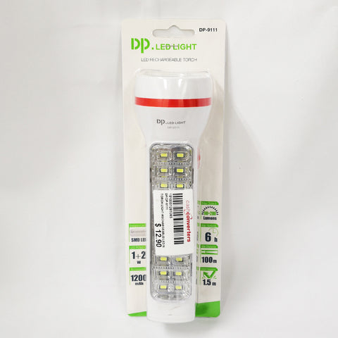 LED Rechargable Torch DP-9111 (Chinatown)