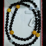 A Jade Necklace (Black) with Cert (Chinatown)
