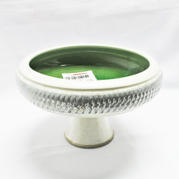 Porcelain Flower Pot With Base (Toa Payoh)