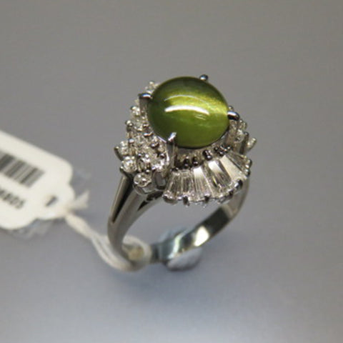 CATSEYE DIAMOND RING (Chinatown)