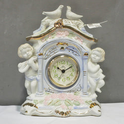 Cupid Display Porcelain Table Clock (Tampines)