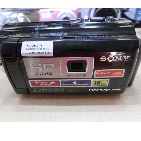 ONLY AVAILABLE AT OUR KALLANG BAHRU OUTLET - SONY HDR-PJ10E CAMCORDER (16GB)
