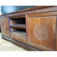 Sold Wood TV Console - (Kallang Bahru)