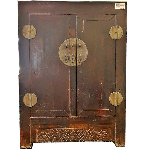 SALE!! VINTAGE SIDE CABINET WITH METAL HARDWARE - (Kallang Bahru)