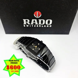 HARI RAYA PROMO: RADO DIASTAR WATCH WITH BOX - (Kallang Bahru)