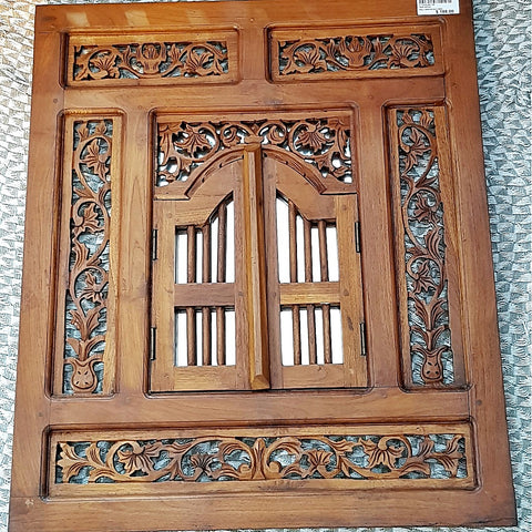 Teak Wood Mirror - (Kallang Bahru)
