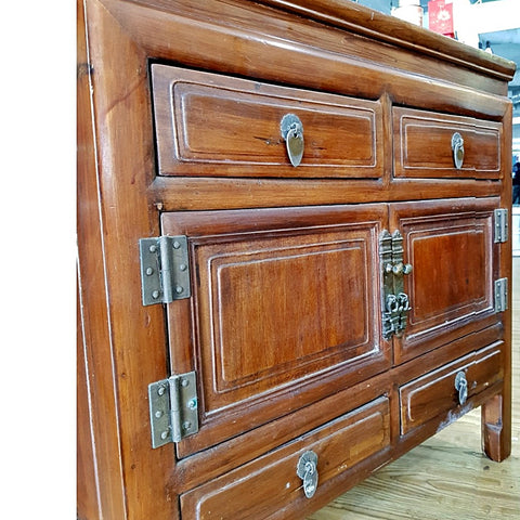 Solid Wood Cabinet- (Kallang Bahru)