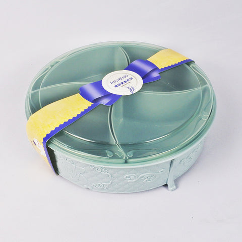 Round Candy Container with 4 Compartments (Selected Stores)