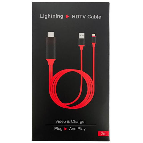 ONLY AVAILABLE AT OUR KALLANG BAHRU OUTLET - LIGHTNING HDTV CABLE