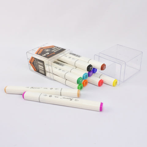 12 PCS ART MARKERS (Selected Stores)