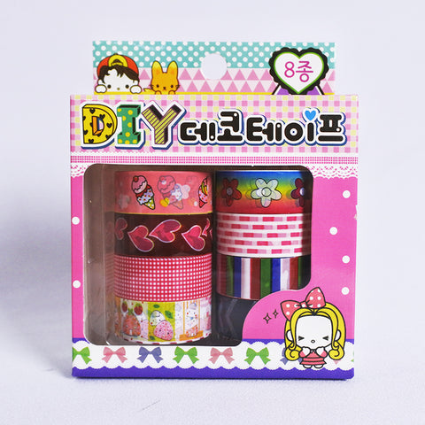 8 Pcs Scotch Tape Set (Selected Stores)