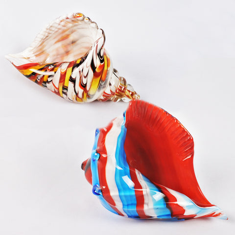 Colourful Glass Conch (Selected Stores)