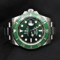 Rolex Submariner Green Dial Watch (Toa Payoh)