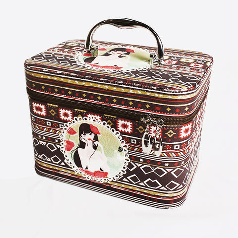 COSMETIC BAG-3IN1 NESTING/ETHNIC (Selected Stores)