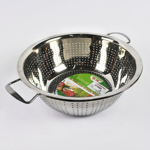 STAINLESS STEEL COLANDER WITH HANDLES (Selected Stores)