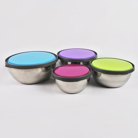 4 PCS STAINLESS STEEL FOOD CONTAINER SET (Selected Stores)