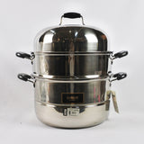 3 TIER STAINLESS STEEL STEAMER (Selected Stores)