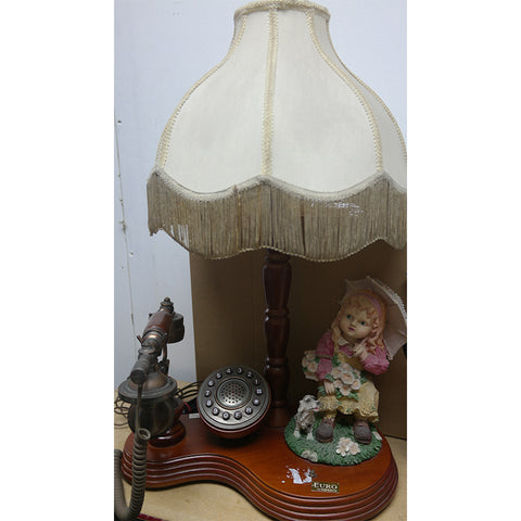 TELEPHONE WITH LAMP AND DOLL FIGURINE (Toa Payoh)