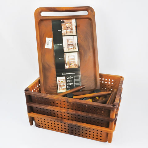 GRAIN DESIGN KITCHEN TROLLEY WITH WHEELS  (Selected Stores)