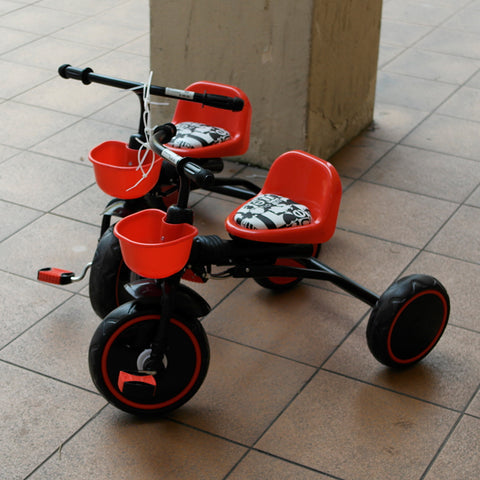 Orange and Black Foldable Tricycle (Toa Payoh)