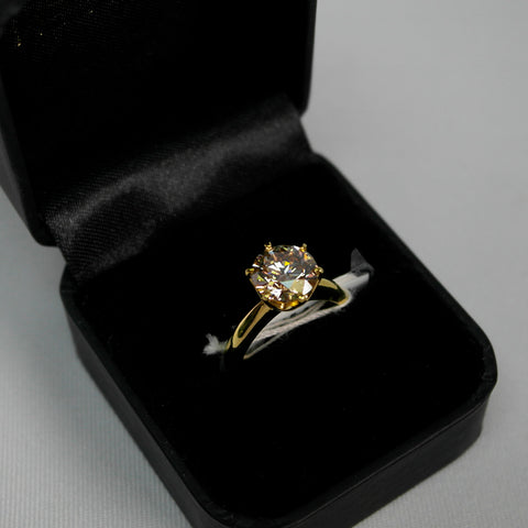 18K Yellow Gold 3.23 CT Diamond Ring (Toa Payoh)