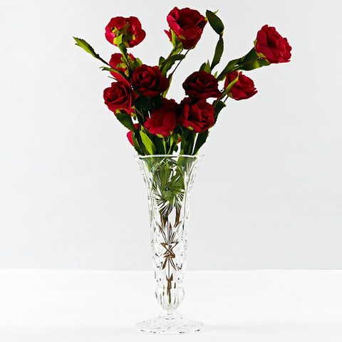 Tall Crystal Vase (Red Saga Seed)