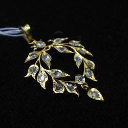 Yellow Gold Intan Pendant (Jurong)