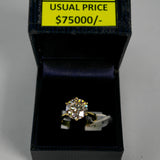 18K Yellow Gold 5.01 CT Diamond Ring (Toa Payoh)
