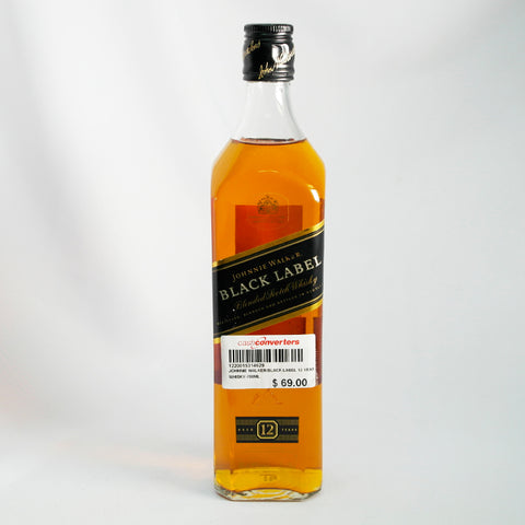 Johnnie Walker Black Label 12 Year Whisky (Toa Payoh)