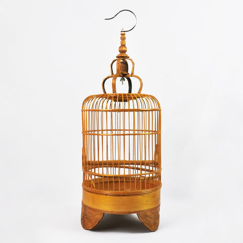 ROUND BAMBOO BIRDCAGE (Selected Stores)
