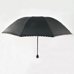 CHECKERED TRIM UMBRELLA (Selected Stores)