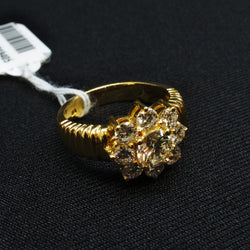 916 Yellow Gold Diamond Ring (Chinatown)
