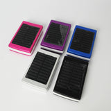 Solar Powerbank with torchlight 6000 mAh