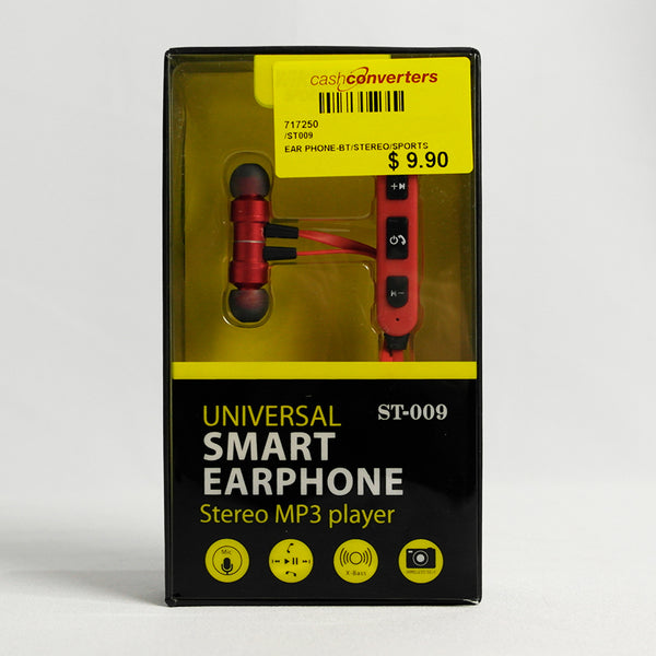 Stereo Wireless Ear Phone Sports (Selected Stores)
