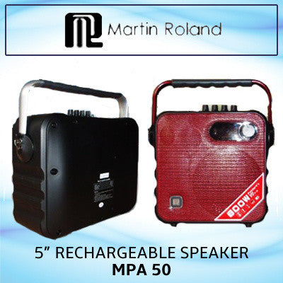 ONLY AVAILABLE AT OUR TOA PAYOH OUTLET - MARTIN ROLAND MP A50 SPEAKER