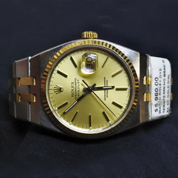 Rolex Gold Dial Bracelet Watch (Kallang Bahru)