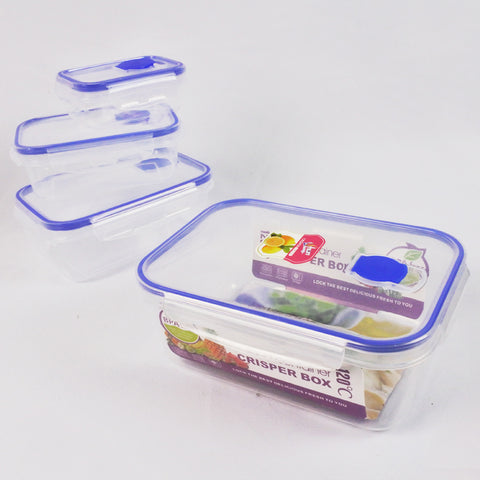4 PCS FOOD CONTAINER SET (Selected Stores)