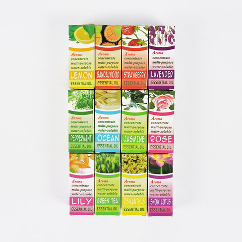 ESSENTIAL WATER SOLUBLE FRAGRANCE OIL - 12 SCENTS (Selected Stores)