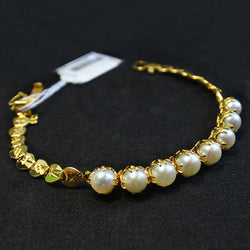 Yellow Gold Pearl Bracelet (Tampines)