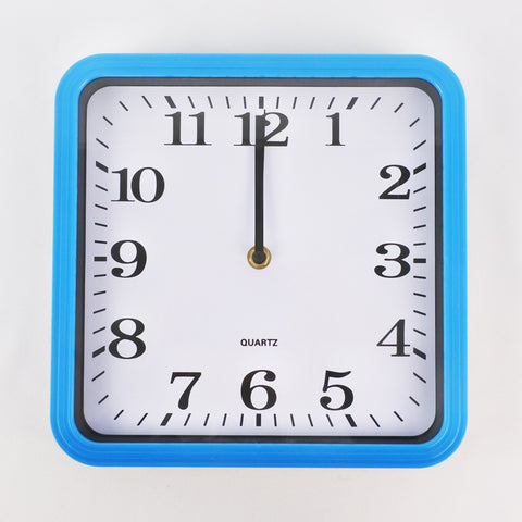 SQUARE WALL CLOCK (Selected Stores)