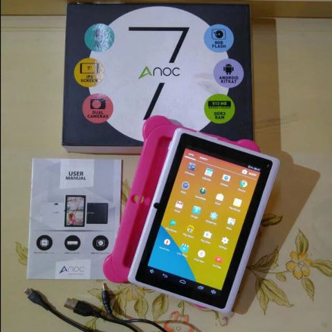 ANOC Android Tablet PC 7 Inch 8GB Quad Core