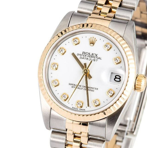 ONLY AVAILABLE OFFLINE - Rolex 783273 Ladies Watch In Mint Condition.