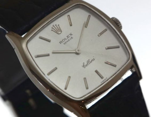 ONLY AVAILABLE OFFLINE - Rolex Cellini White Gold Men's Watch