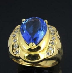 ONLY AVAILABLE OFFLINE - Natural Tanzanite  5.37 carats Ring